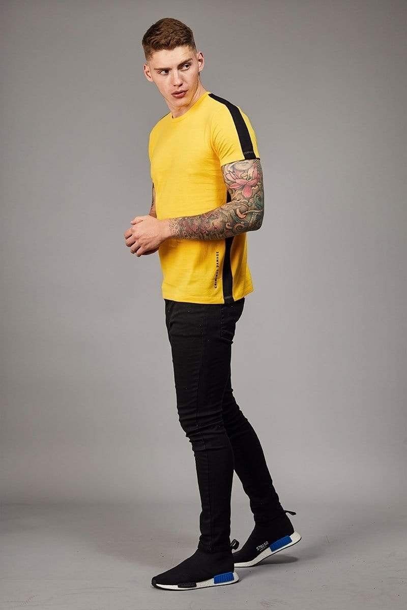 Carnaby Tee - Yellow