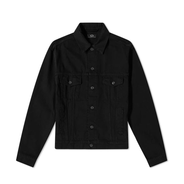Cartel Denim Jacket - Black