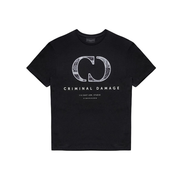 CD Bandana Logo Tee - Black