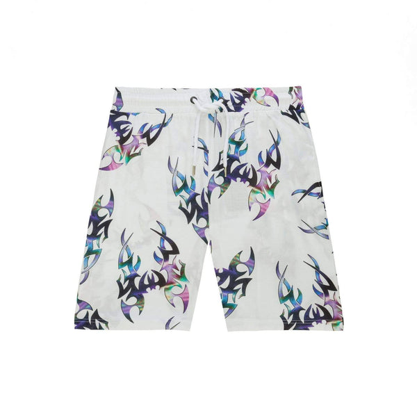 Chrome Rave Short - White