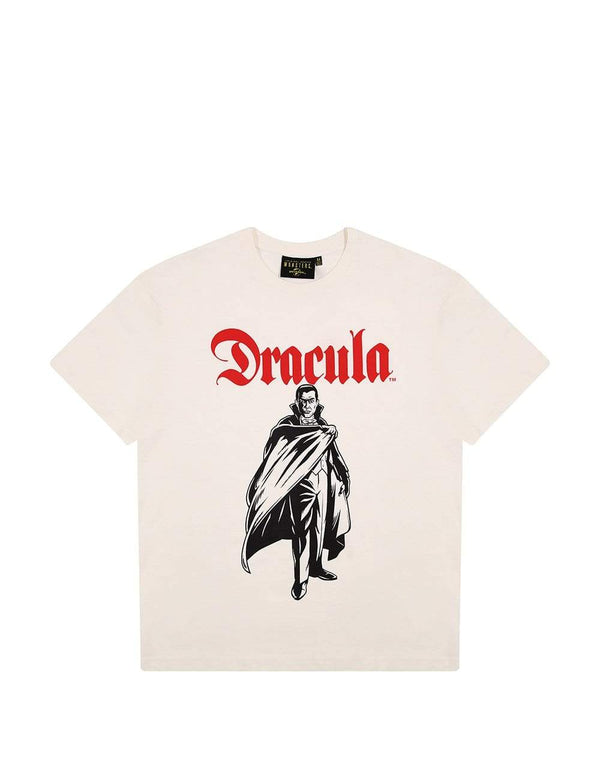 Criminal Damage T-SHIRT Dracula Tee - Off-White