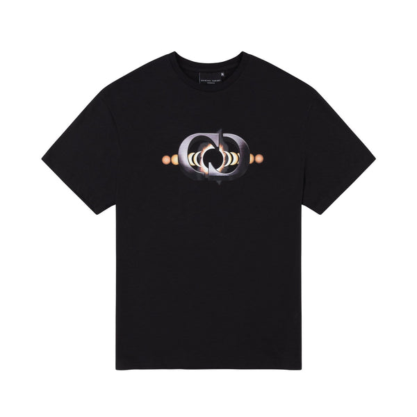 Criminal Damage T-SHIRT Eclipse Tee - Black