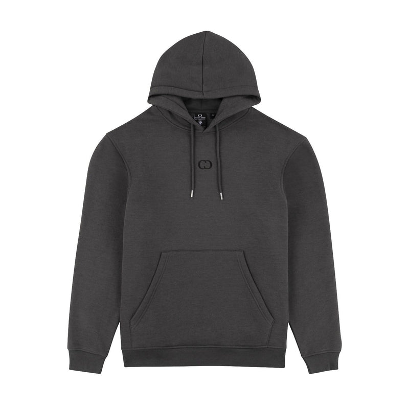 Criminal Damage T-SHIRT Eco Essential Recycled Hoodie - Charcoal
