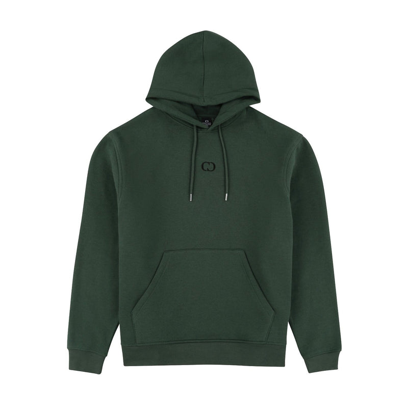 Criminal Damage T-SHIRT Eco Essential Recycled Hoodie - Olive