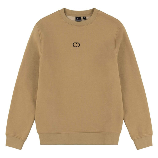 Criminal Damage T-SHIRT Eco Essential Recycled Sweatshirt - Sand