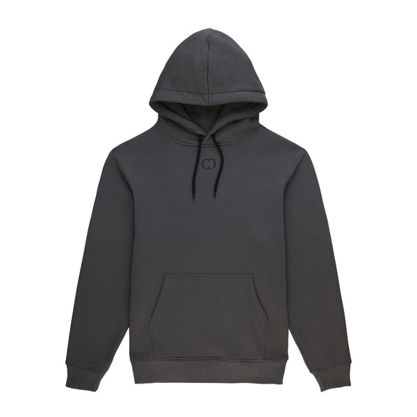 Criminal Damage T-SHIRT Essential Hood - Charcoal