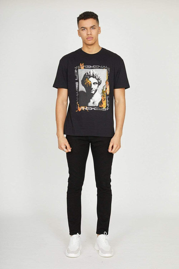 Greek Inferno Tee - Black