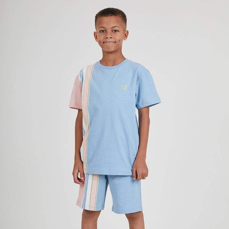 Kids Bran Tee - Blue / Multi