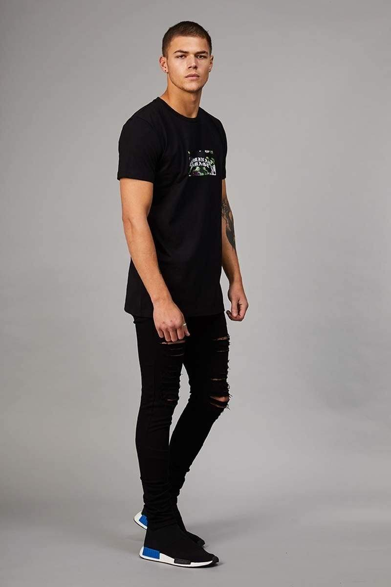 Eves Tee - Black/White