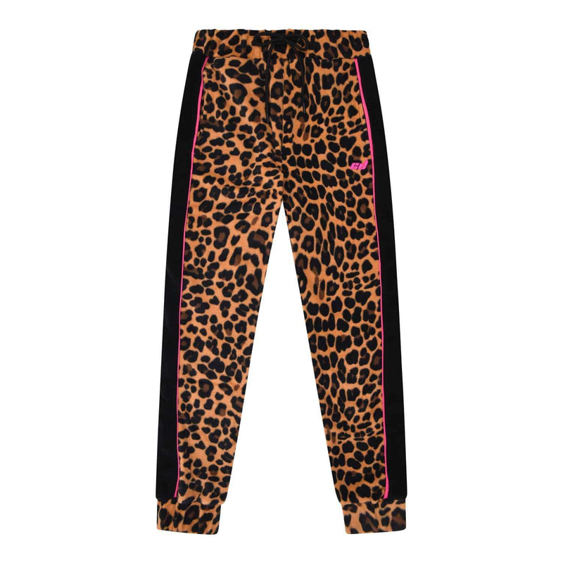 Cleo Track Jogger - Leopard