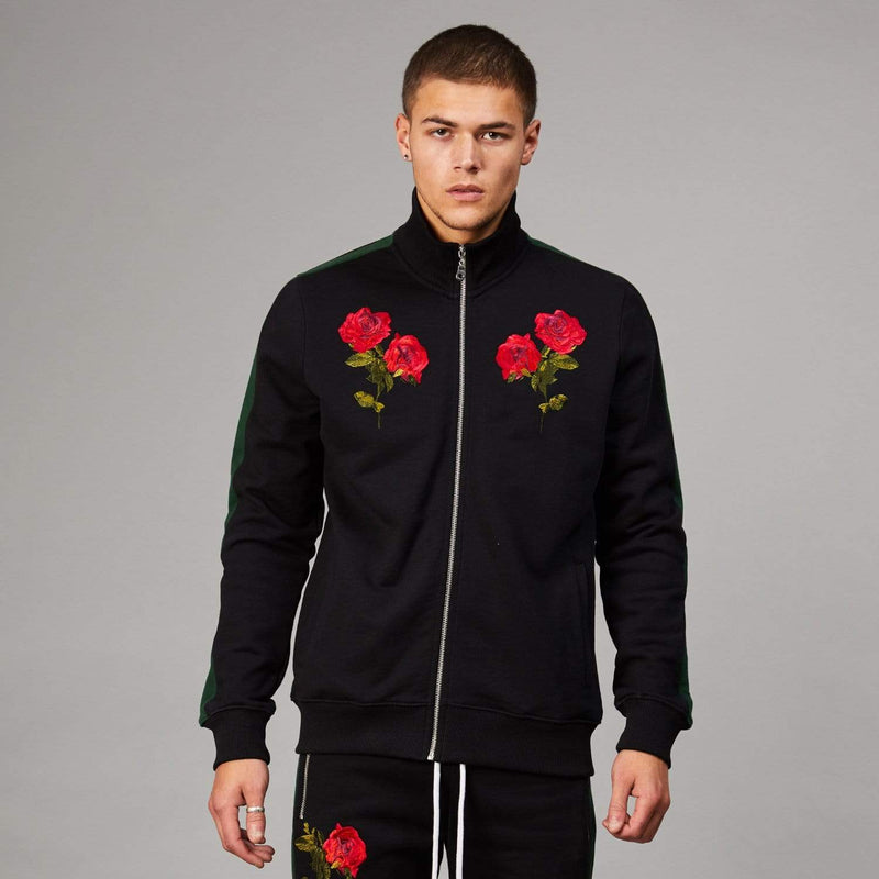Thorn Track Top - Black/Multi