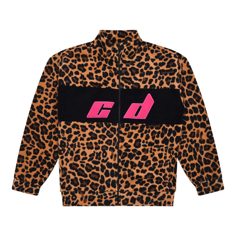Cleo Track Top - Leopard