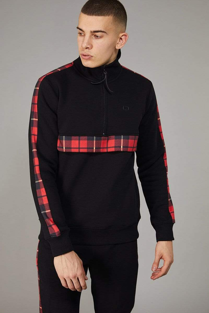 Criminal Damage TRACKTOP Red / XS Check Globe Track Top