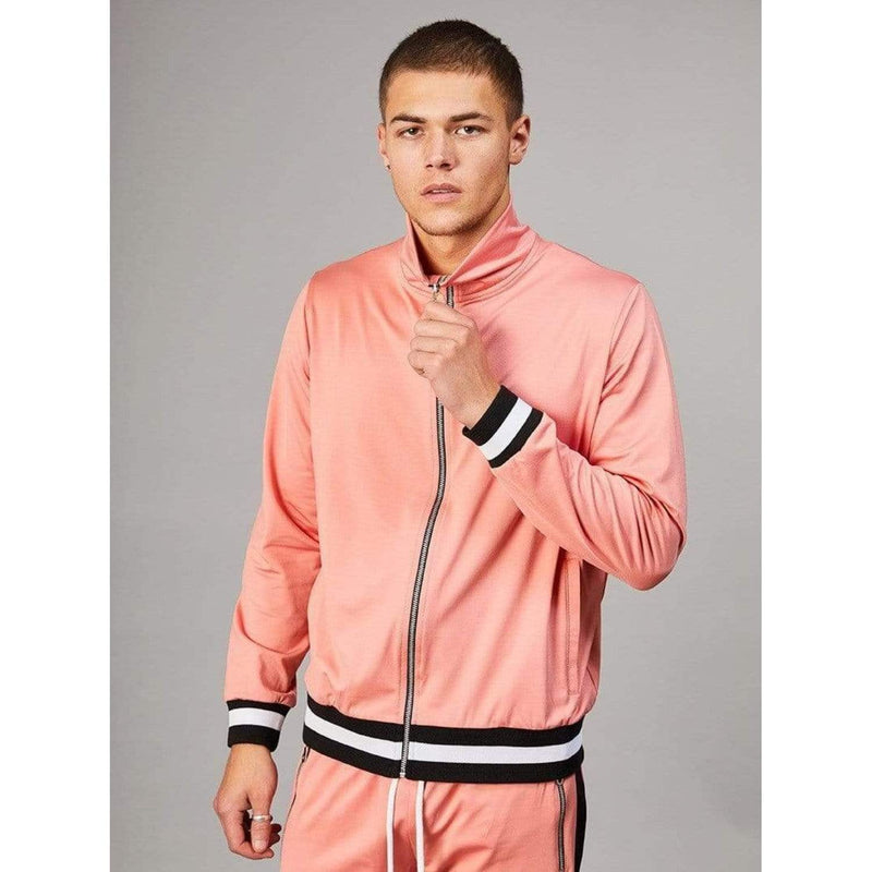 Soho Track Top - Pink