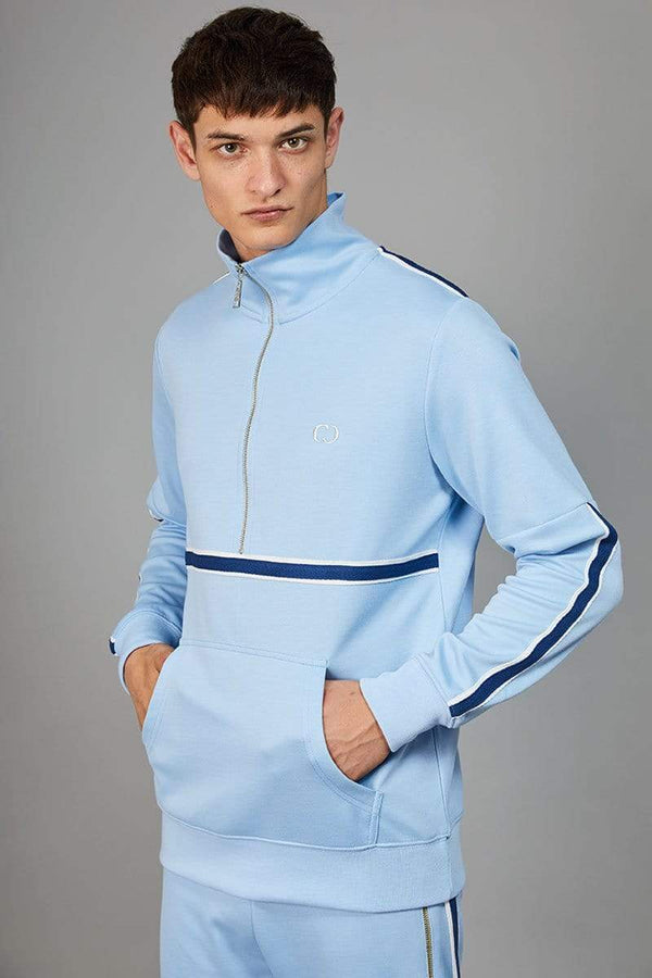 Criminal Damage TRACKTOP Wise Track Top - Blue