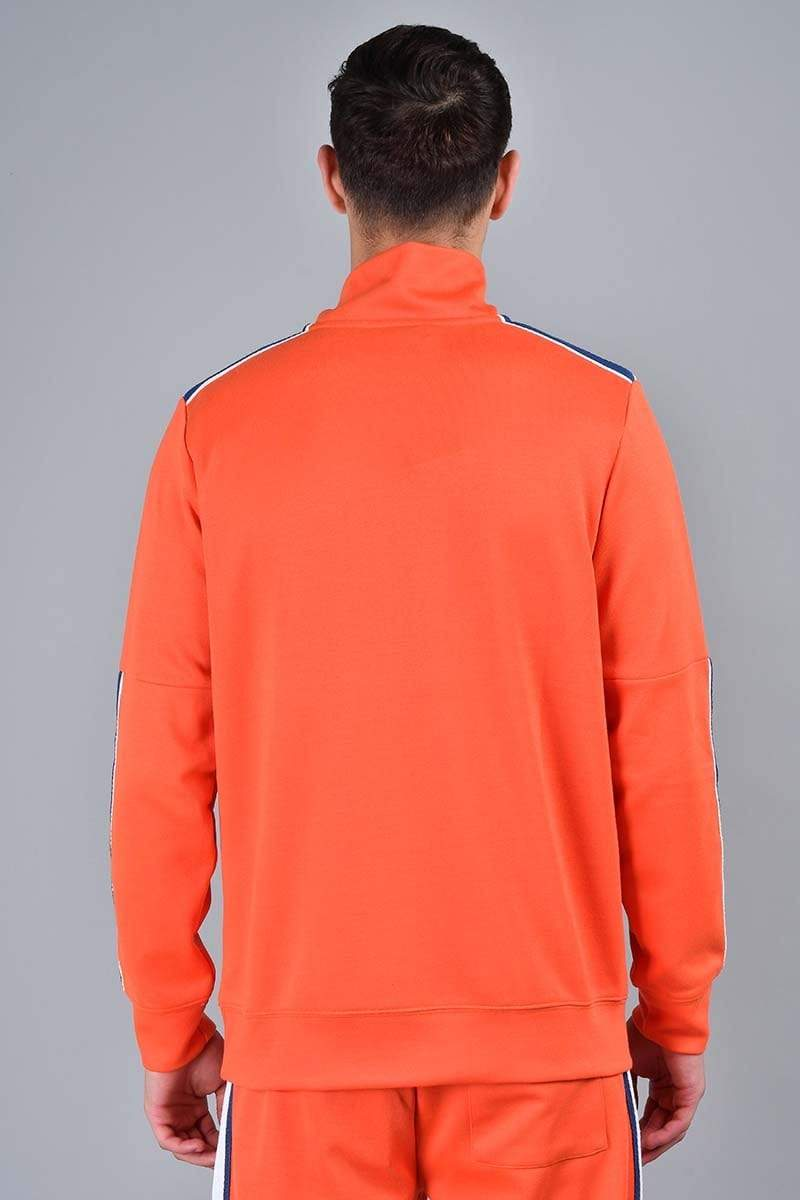 Criminal Damage TRACKTOP Wise Track Top - Orange