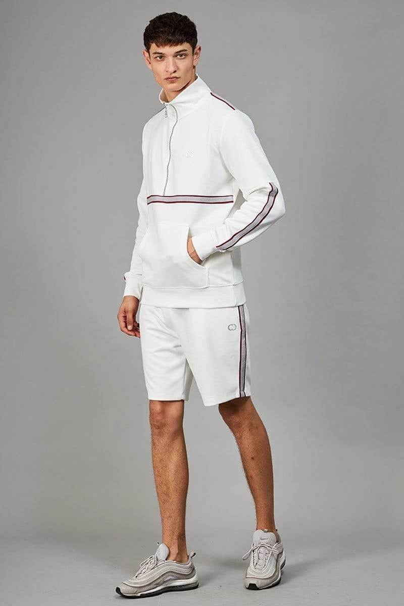 Criminal Damage TRACKTOP Wise Track Top - White