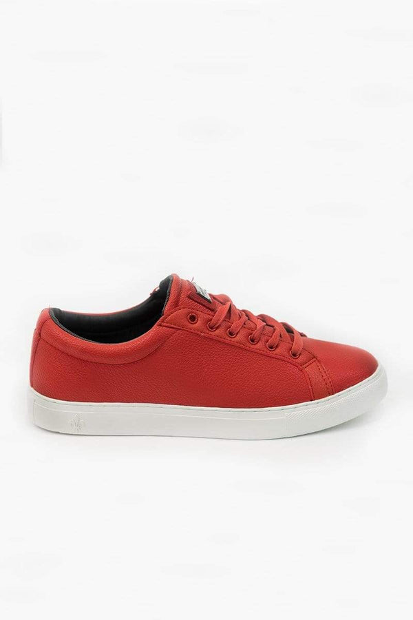 Criminal Damage TRAINERS Andre Trainers - Red