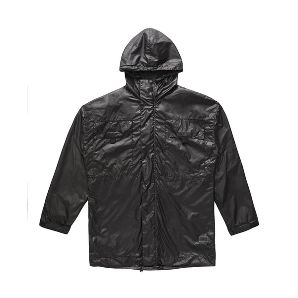 Dark Utility Windbreaker - Black