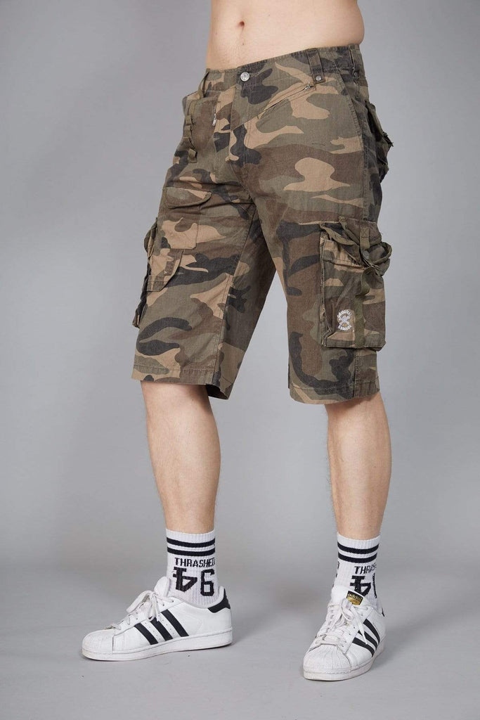Criminal Damage VINTAGE 26 / Camo Draven Short