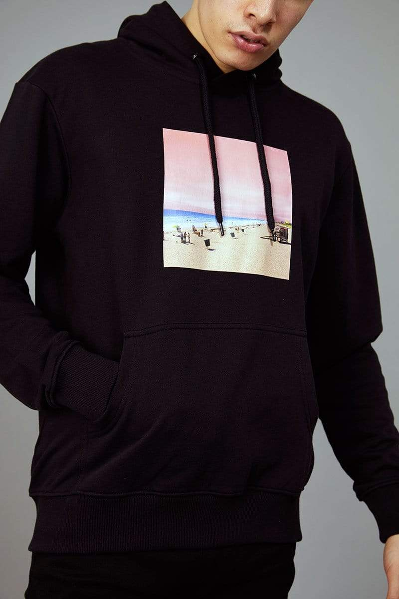Criminal Damage XS / black Pink Beach Hood