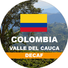 Load image into Gallery viewer, Colombian Decaf Fresh Roasted Coffee