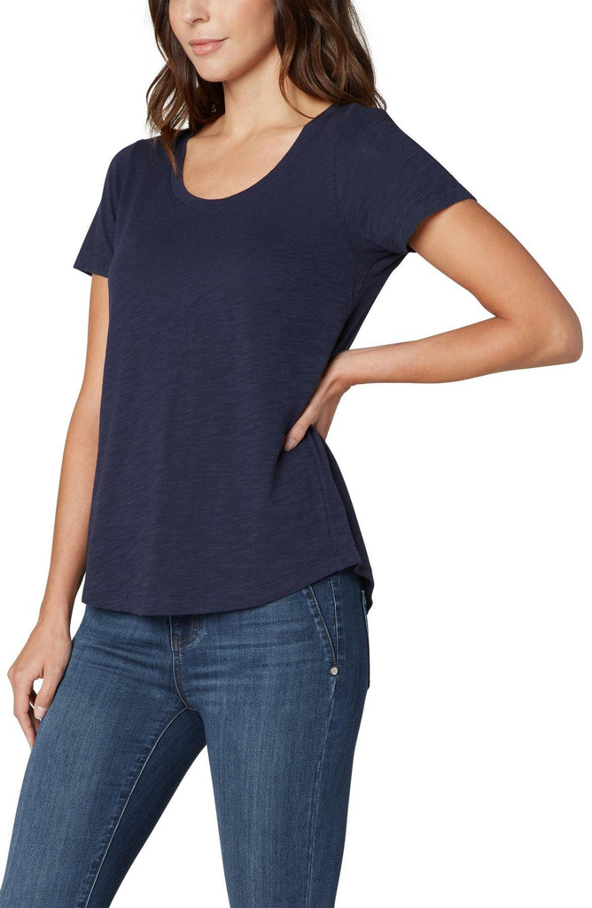 Navy Scoop Neck - Tru Blue