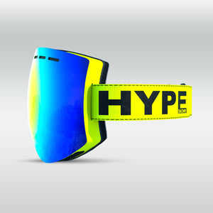 HypeSnow Fresh n' Yellow Skidglasögon