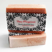 Citrus Pomegranate Salt Soap (6 pack)