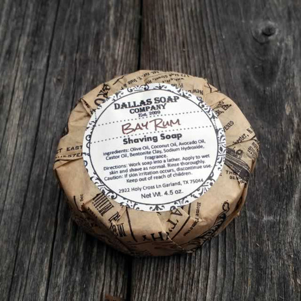 Bay Rum Shaving Soap - 6 pack