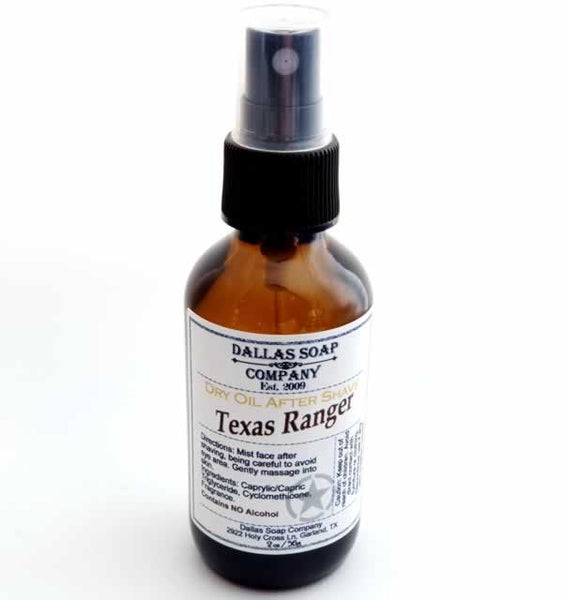 Texas Ranger Dry Oil After Shave - 4 pack