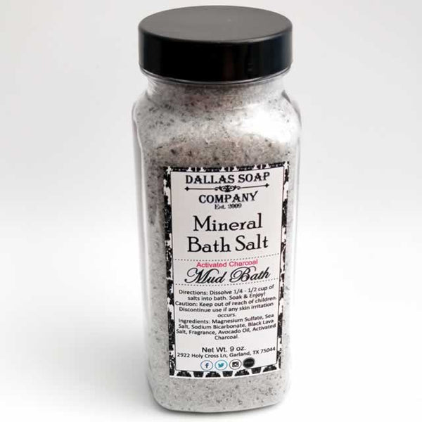 Mud Bath Mineral Salt Soak - 9 oz. (4 ct)
