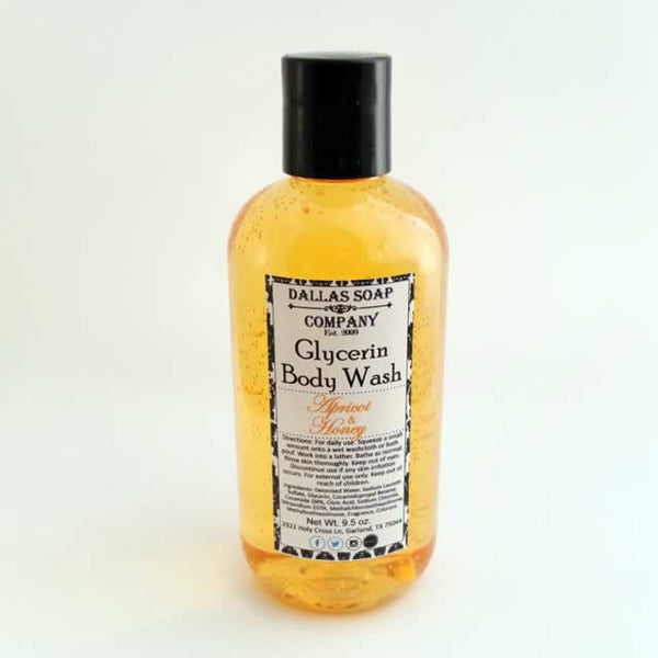 Apricot & Honey Glycerin Body Wash - 4 ct