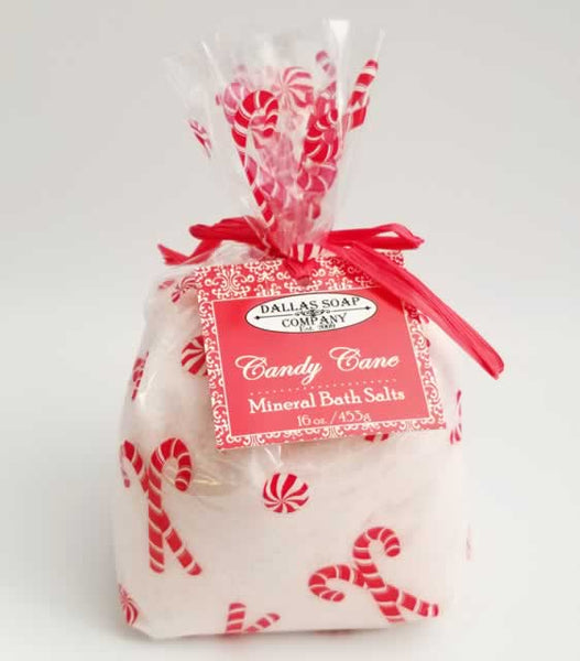 Candy Cane Mineral Bath Salt - 1 lb