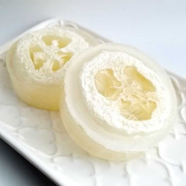 Peppermint Loofah Soap 6 pack