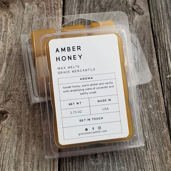 Wholesale Wax Melts - Amber Honey by Grace Mercantile