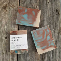 Cashmere and Silk Shea Butter Soap - 6 pack