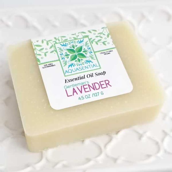 Gentleman's Lavender Essential Oil Soap