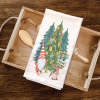 Christmas Gnome Wholesale Tea Towels