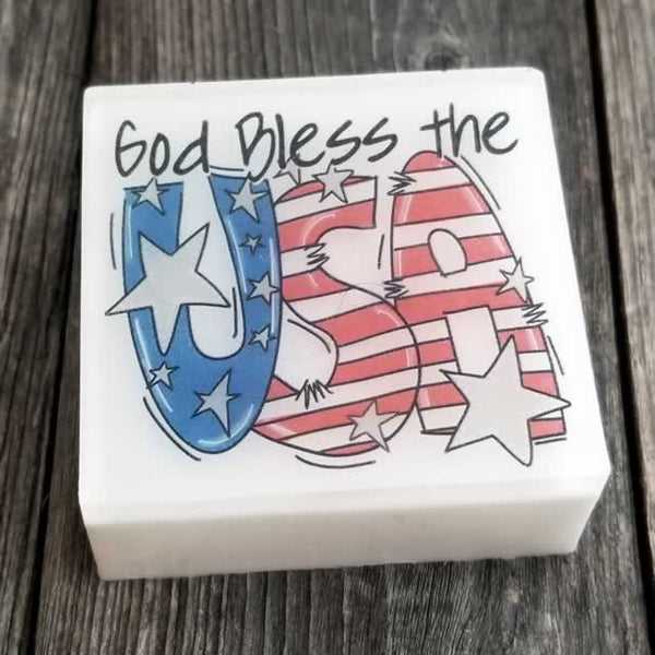 God Bless the USA Soap - Wholesale by Dallas Soap Company