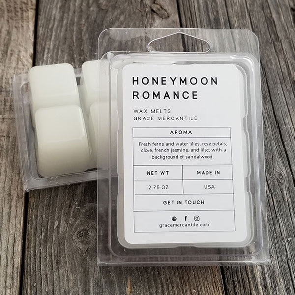 Honeymoon Romance Wholesale Wax Melts Dallas Soap Company