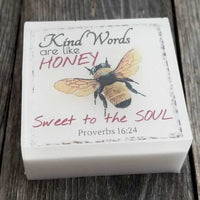 Wholesale Scripture Soap - Proverbs 16:24 Dallas Soap Company