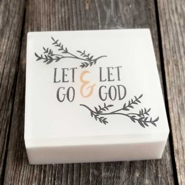Let Go & Let God Wholesale Scripture Soap - Dallas Soap Company