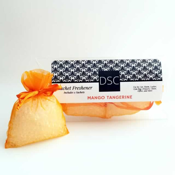 Mango Tangerine Wholesale Sachets by Dallas Soap Company DSC
