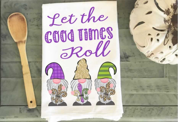 Mardi Gras Tea Towels Wholesale