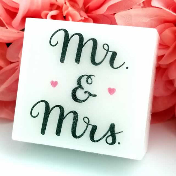 Mr & Mrs Wedding Soap - Wholesale 2 pack