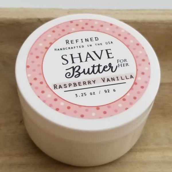 Raspberry Vanilla Wholesale Shave Butter