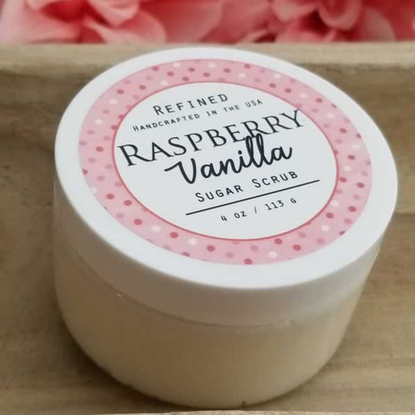 Wholesale Sugar Scrub - Raspberry Vanilla by Dallas Soap Company