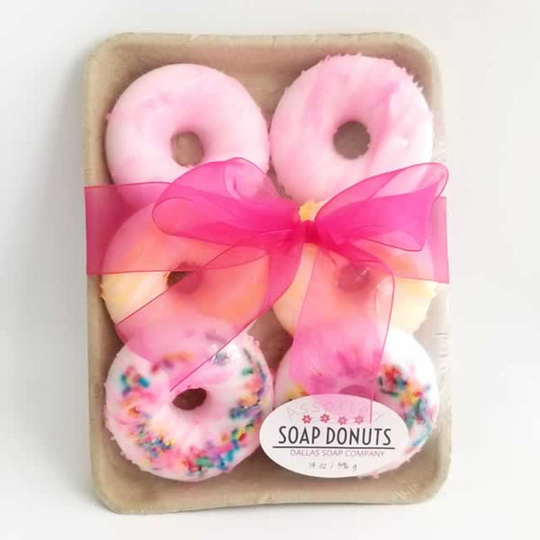 Donut Soap Gift Set Wholesale by Dallas Soap Company