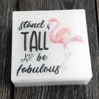Flamingo Soap by Dallas Soap Company